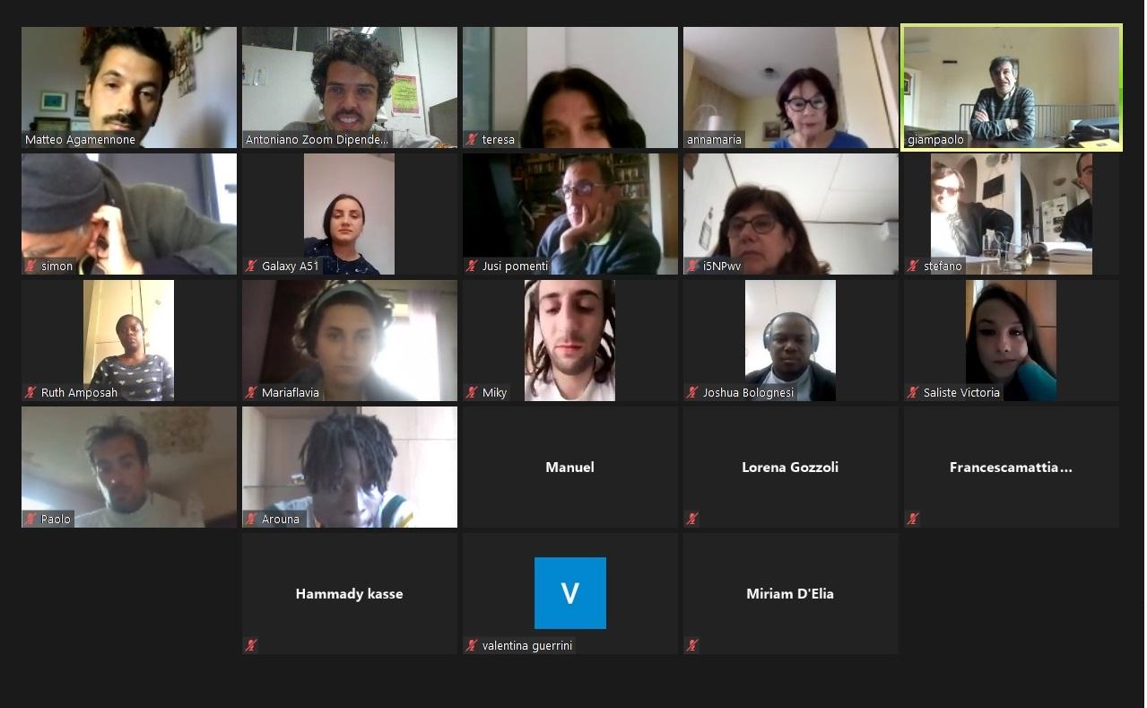 Festa laboratori migranti online