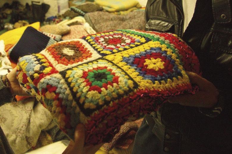 Una coperta e un sorriso