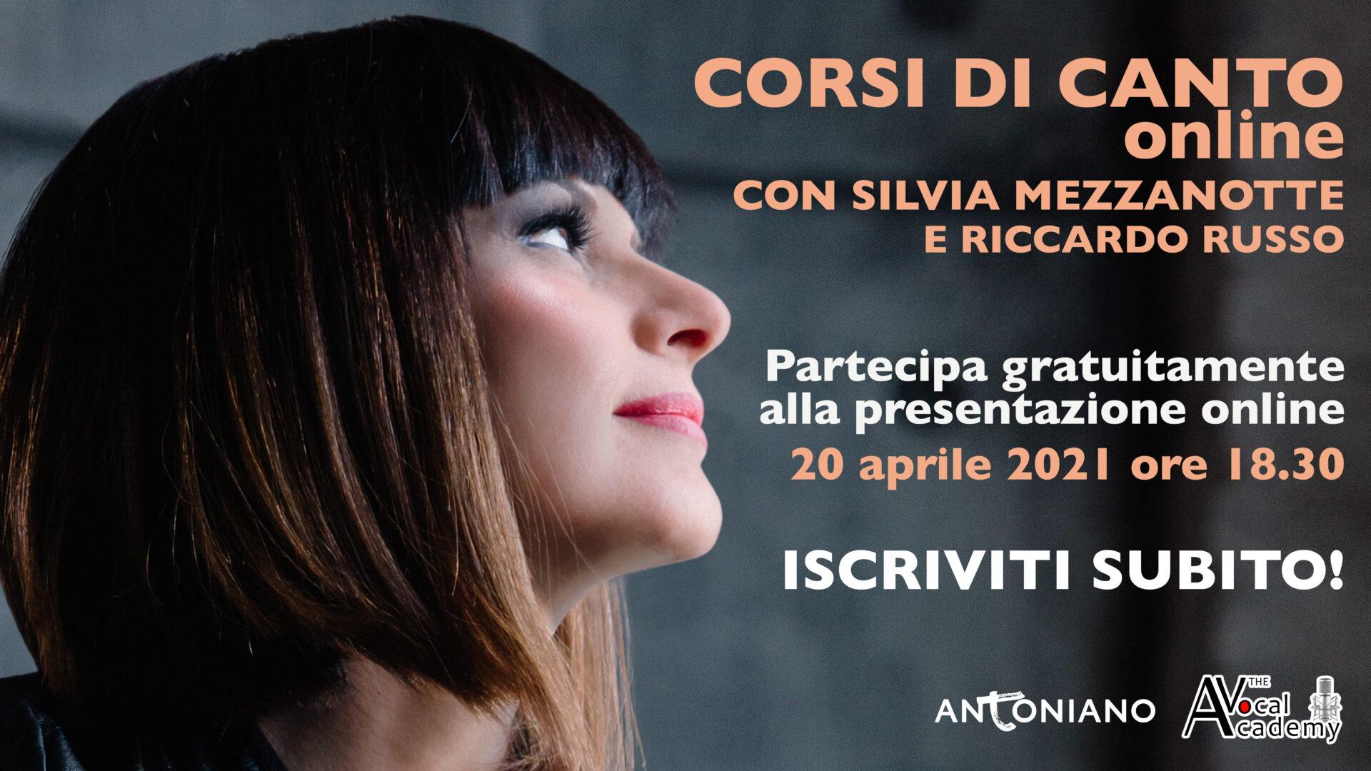Silvia Mezzanotte - Corso di canto