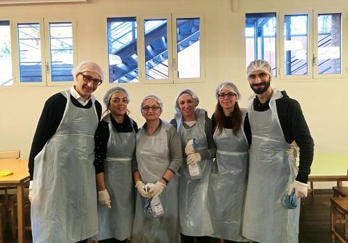 Intesa San Paolo nelle mense francescane d'Italia